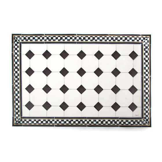 Mackenzie Childs Westminster Floor Mat 2 X 3