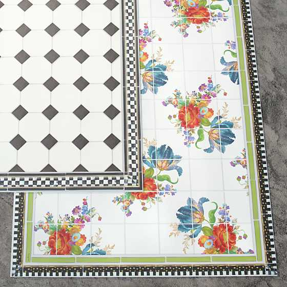 Flower Market Floor Mat - 3' x 5' image three