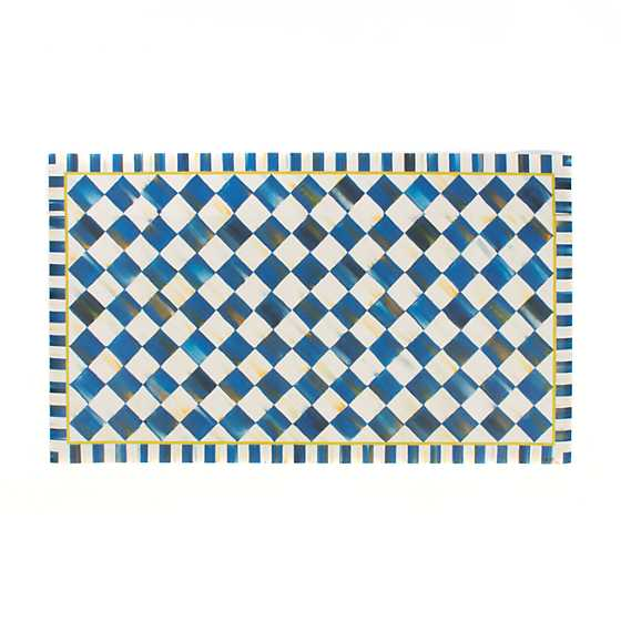 Royal Check Floor Mat - 2' x 3'