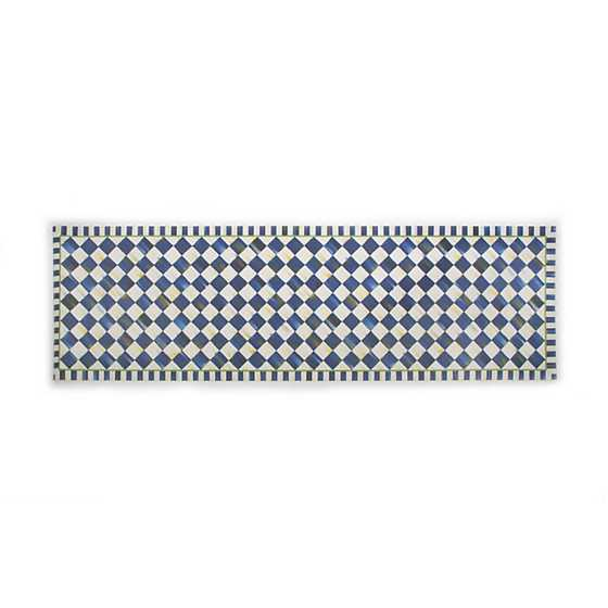 "Royal Check Floor Mat - 2'6"" x 8' Runner"