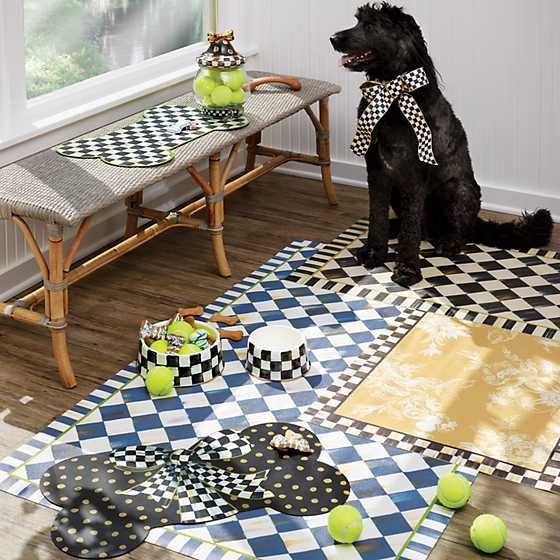 Royal Check Floor Mat - 3' x 5' image four