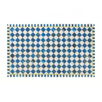 Royal Check Floor Mat - 3' x 5'