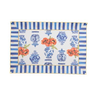 Image for Chinoiserie Floor Mat - 2' x 3'