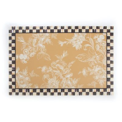 Wild Rose Floor Mat - 2' x 3' - Wheat