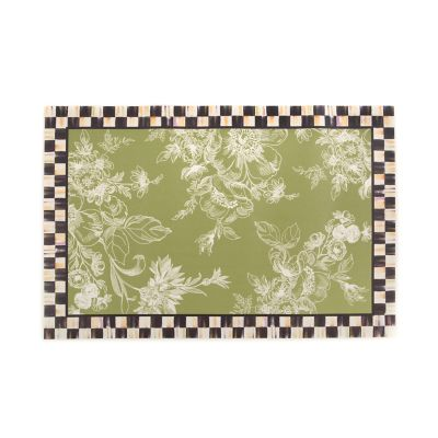 Wild Rose Floor Mat - 3' x 5' - Fern