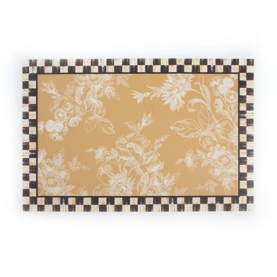 Wild Rose Floor Mat - 3' x 5' - Wheat