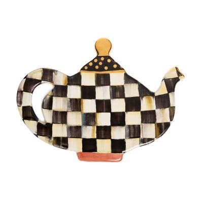 Limited-Edition Courtly Check Teapot Trivet