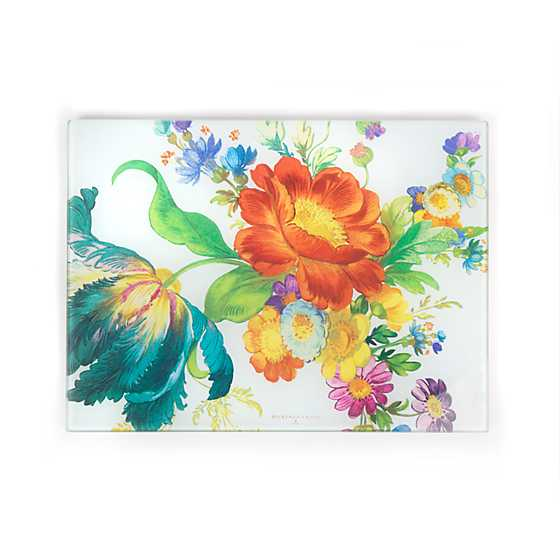 Flower Market Cutting Board image one