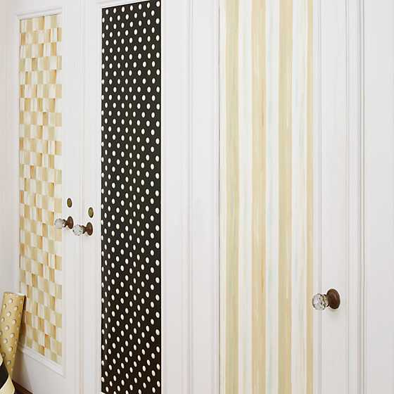 Parchment Stripe Wallpaper image four