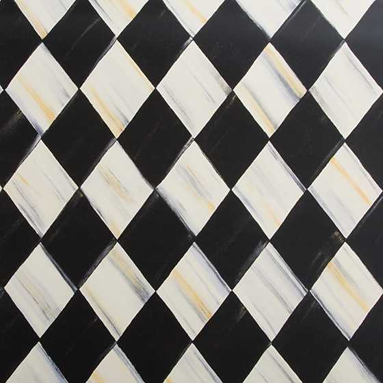 Courtly Harlequin Wallpaper