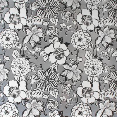 Avant-Garden Wallpaper - Silver - Small