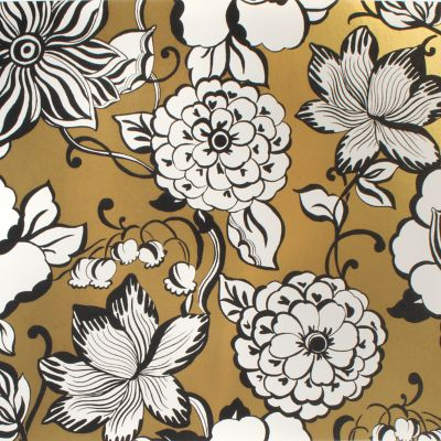 Avant-Garden Wallpaper - Gold - Large