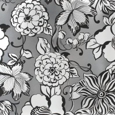 Avant-Garden Wallpaper - Silver - Large