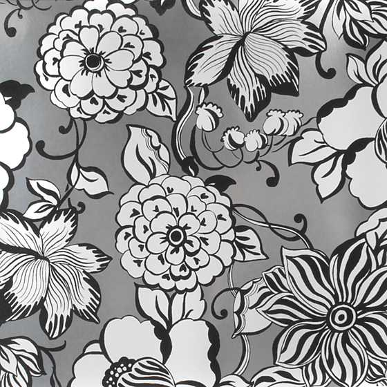Avant-Garden Wallpaper - Silver - Large image one