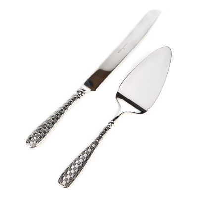 Check Cake Serving Set