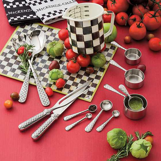 Check Salad Serving Set image two