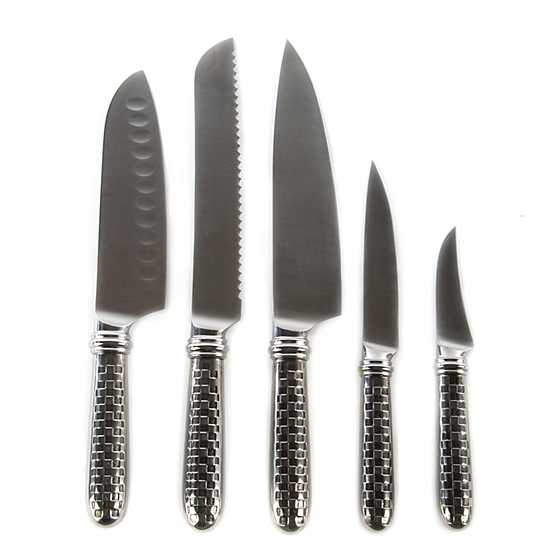 Check 6-Piece Knife Set image three