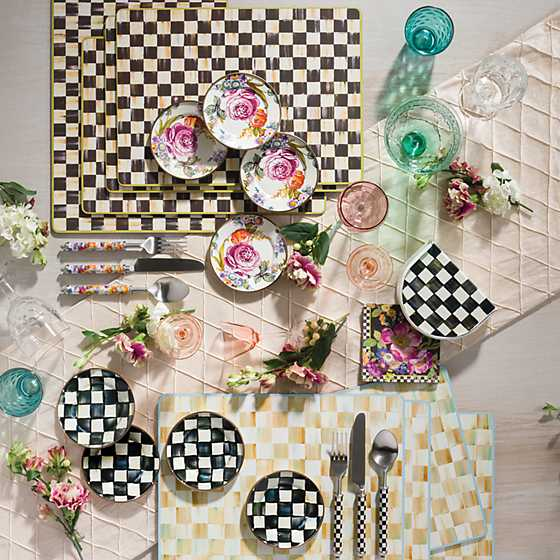Supper Club 3-Piece Place Setting - Flower Market image two