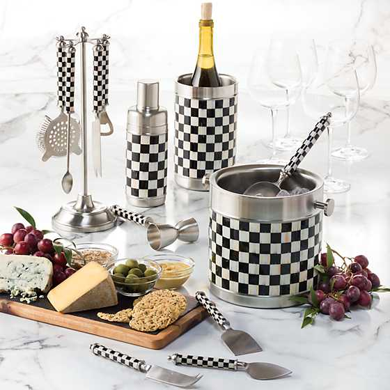 Supper Club Cheese Knife Set - Courtly Check image two