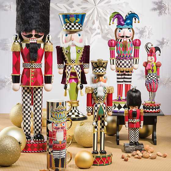 Nutcracker Mug Tower - Set of 4 image two
