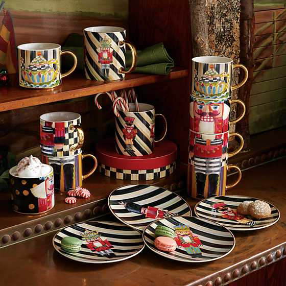 Nutcracker Mug Tower - Set of 4 image five