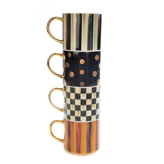 Nutcracker Mug Tower - Set of 4 image three