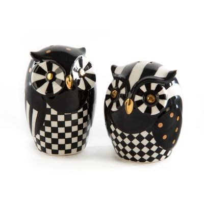 Mod Owl Salt & Pepper Set