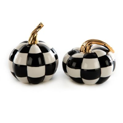 Mod Pumpkin Salt & Pepper Set