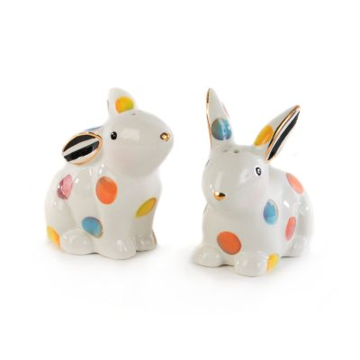 Dotty Salt & Pepper Shakers