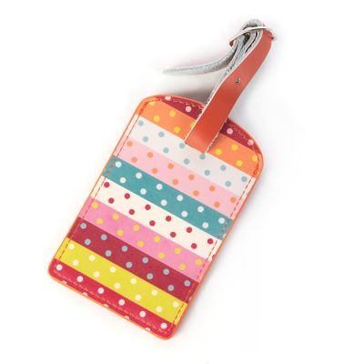 Ribbon & Dot Luggage Tag