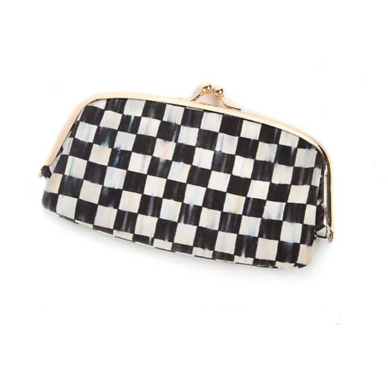 Courtly Check Eyeglasses Case
