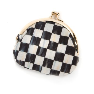 Courtly Check Coin Purse