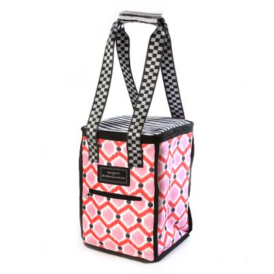The Vineyard Tote - Ikat Pink