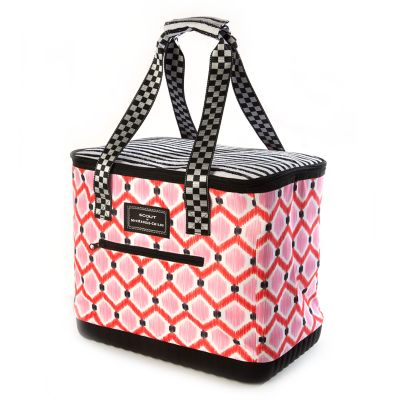 The Boat Tote - Ikat Pink