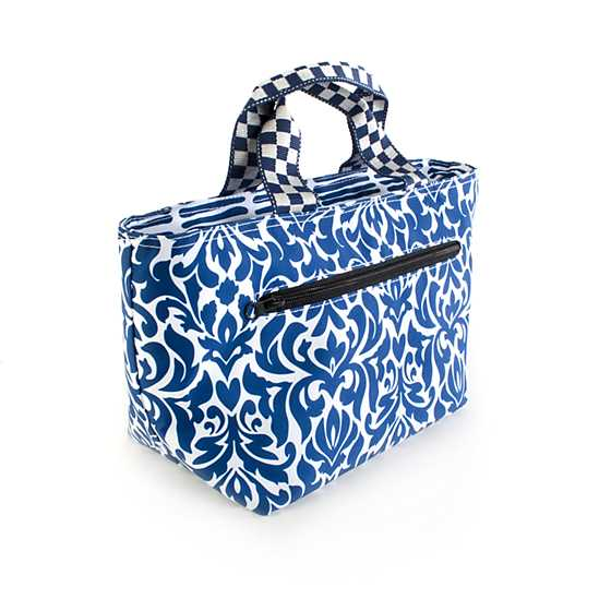 The Out to Lunch Tote - Royal image three