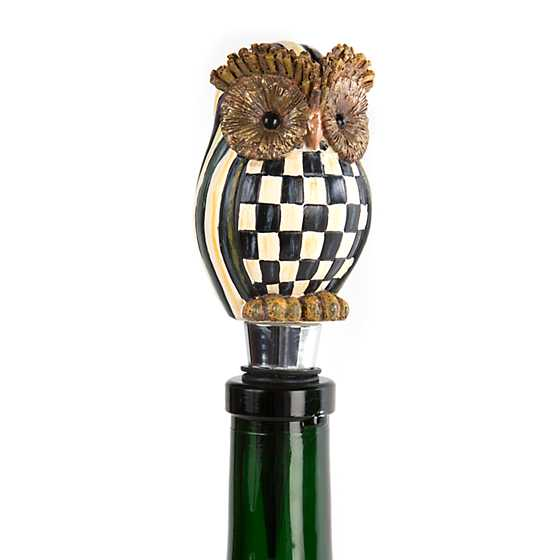 Hoot Owl Bottle Stopper