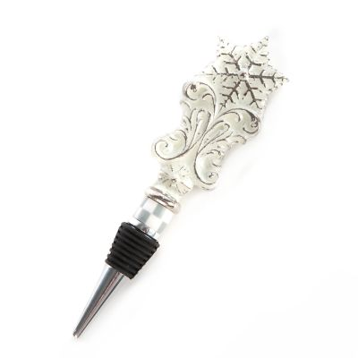 Snowfall Bottle Stopper