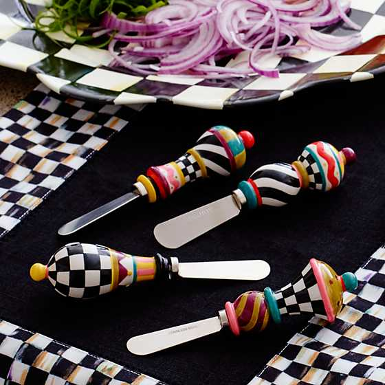 Jubilee Canape Knives - Set of 4 image two