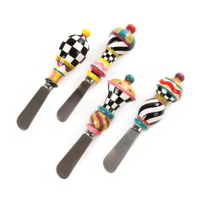 Jubilee Canape Knives - Set of 4