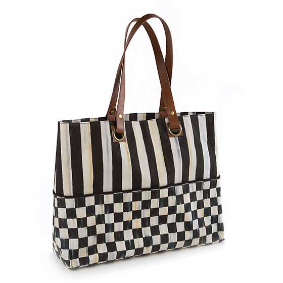 Courtly Check Bistro Tote