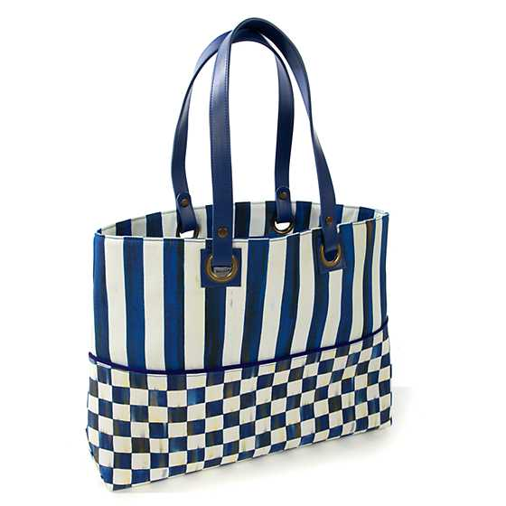 Royal Check Bistro Tote image one