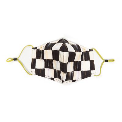 Image for Courtly Check Face Mask - Cone