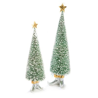 Patience Brewster Moonbeam Sisal Elf Tree Figures