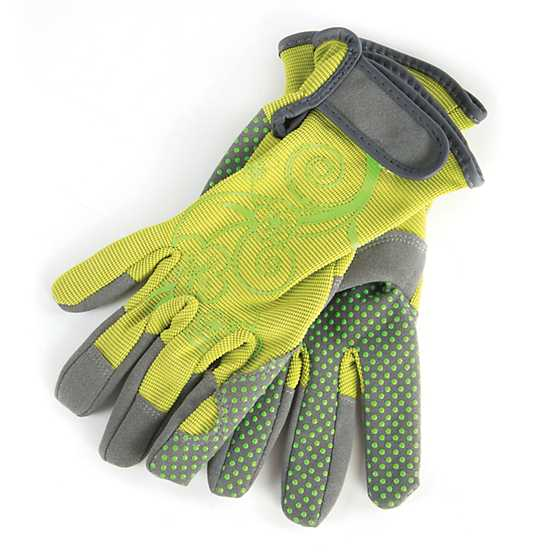 Artisan Garden Gloves - Large - Chartreuse image one