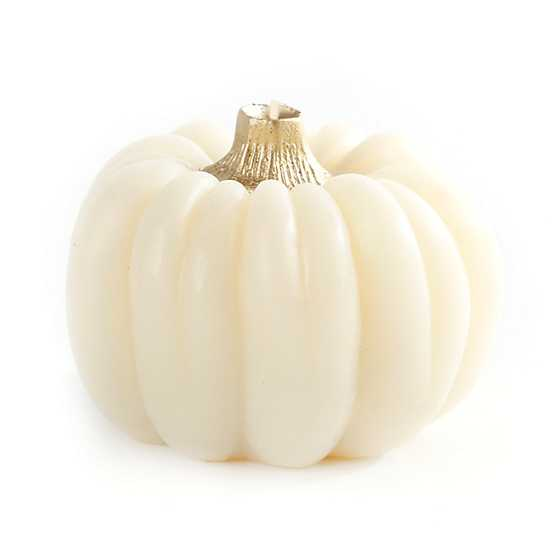 Pumpkin Candle - Ivory