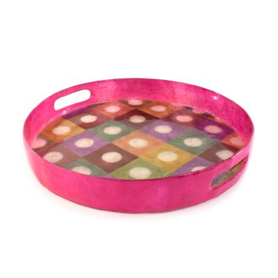 Unorthodot Serving Tray - Round