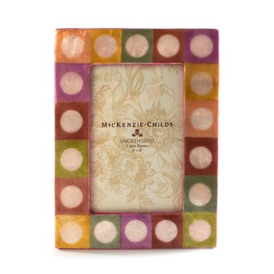 """Holly Hock Butterfly Glass Photo Frame Gift Box 4 x 6/"""""""