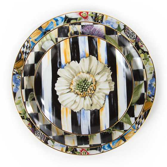 Thistle & Bee Dinner Plate - Garland image three