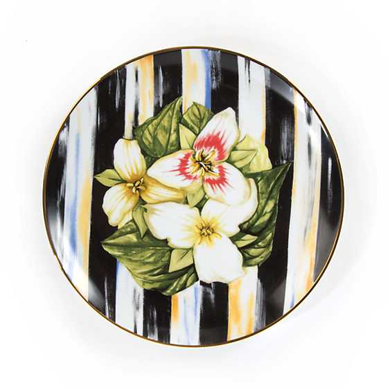 Thistle u0026 Bee Salad Plate - Trillium  sc 1 st  MacKenzie-Childs : bee dinnerware sets - Pezcame.Com
