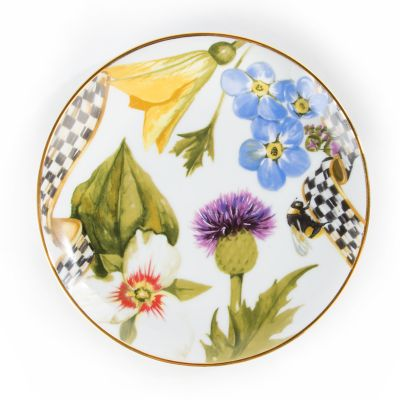 Thistle & Bee Bread & Butter Plate